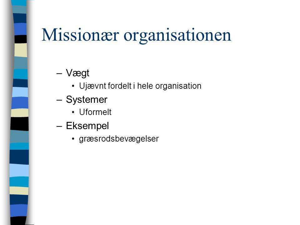 Missionær organisationen