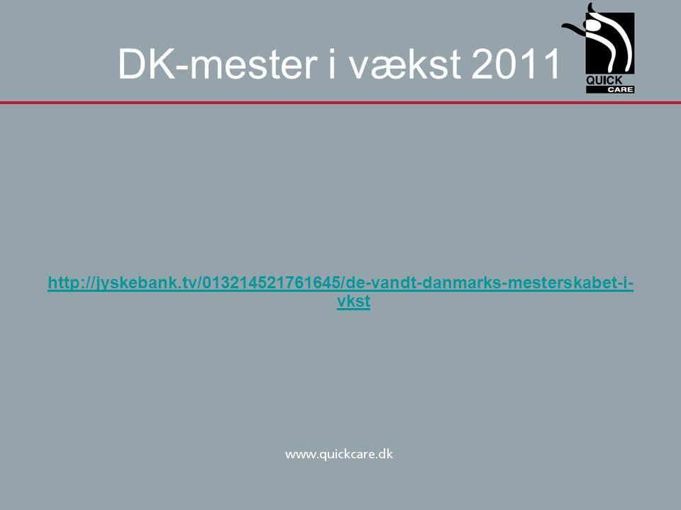 DK-mester i vækst 2011 http://jyskebank.tv/013214521761645/de-vandt-danmarks-mesterskabet-i-vkst