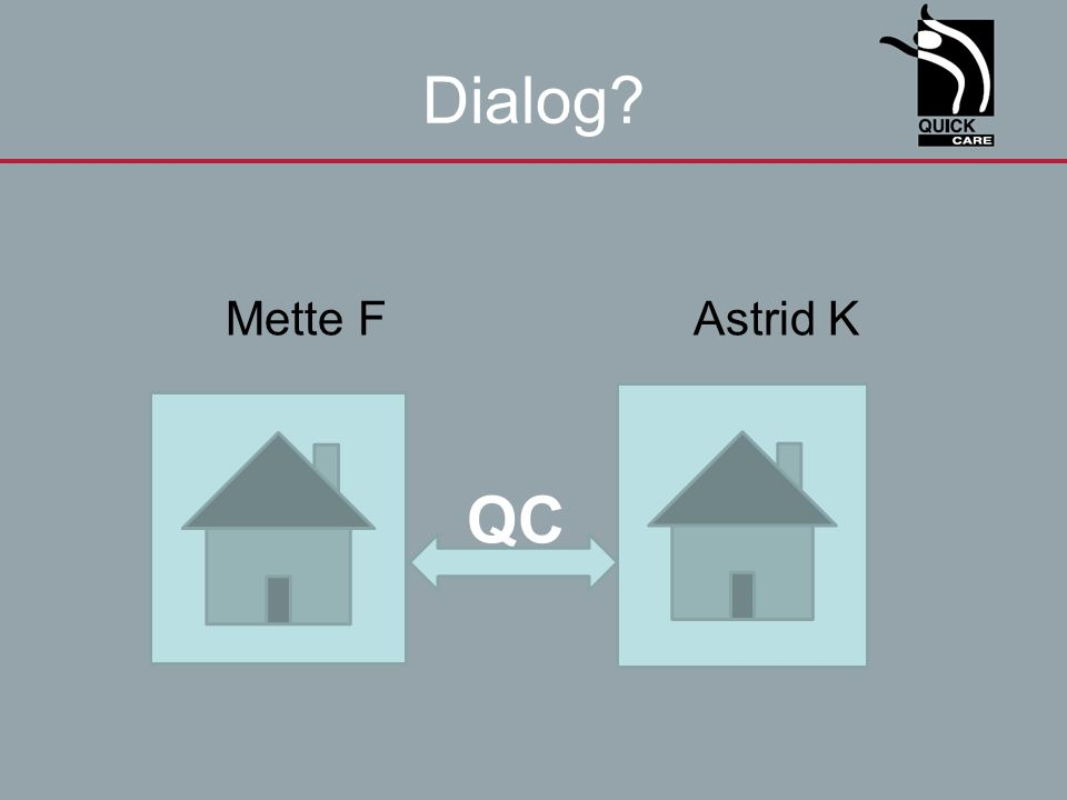 Dialog Mette F Astrid K QC