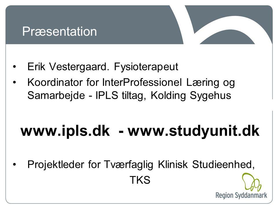 www.ipls.dk - www.studyunit.dk