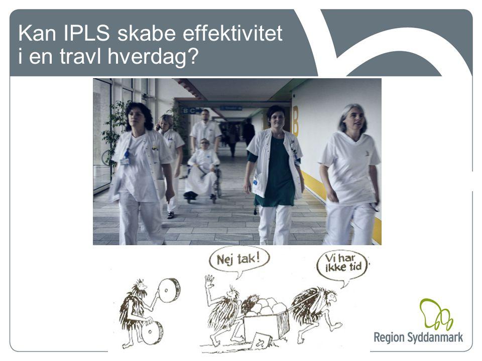 Kan IPLS skabe effektivitet i en travl hverdag
