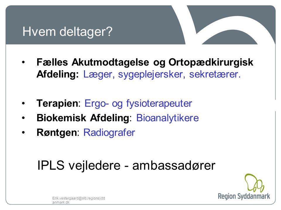 IPLS vejledere - ambassadører