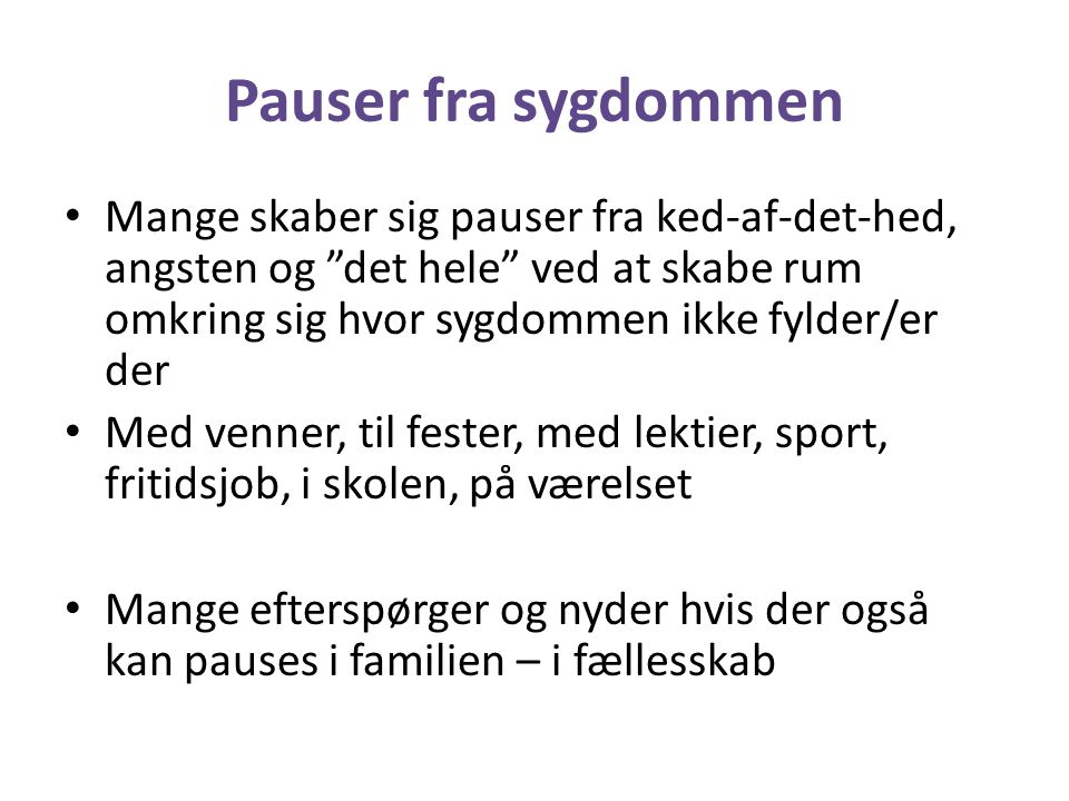 Teen-age liv med en alvorligt syg forælder - ppt video online download