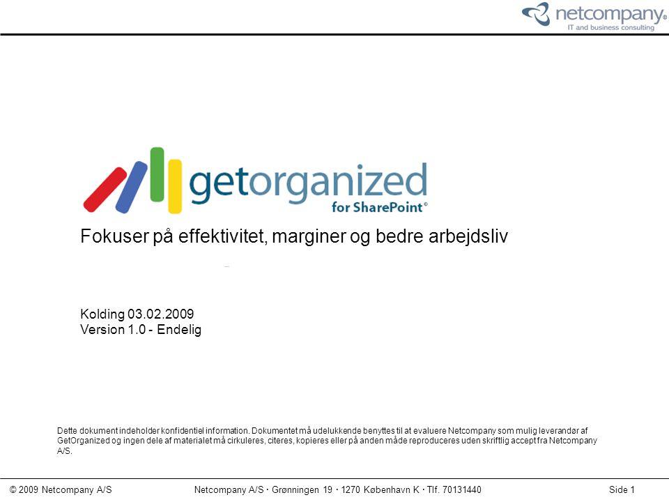 GetOrganized for SharePoint