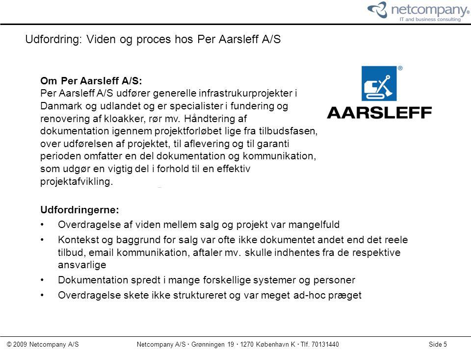 Udfordring: Viden og proces hos Per Aarsleff A/S