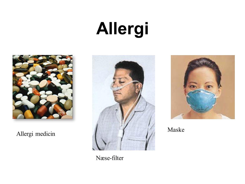 Allergi Maske Allergi medicin Næse-filter