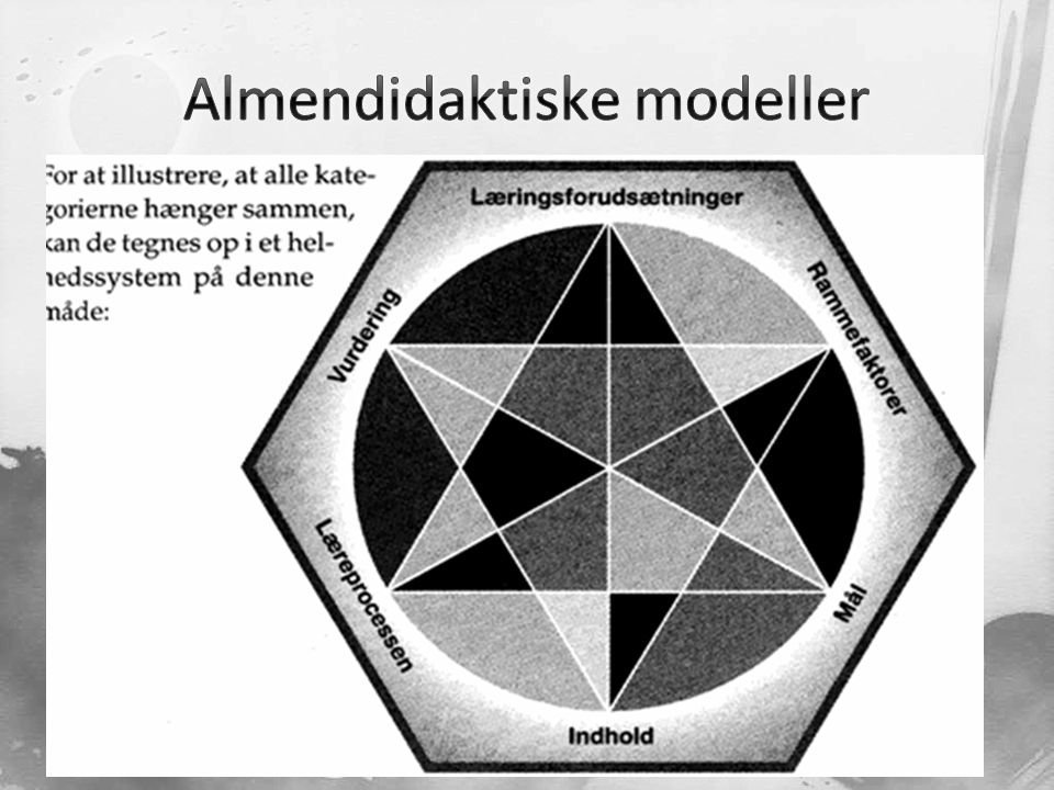 Almendidaktiske modeller
