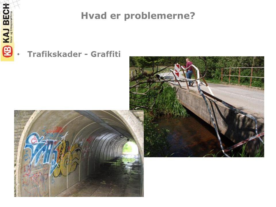 Hvad er problemerne Trafikskader - Graffiti