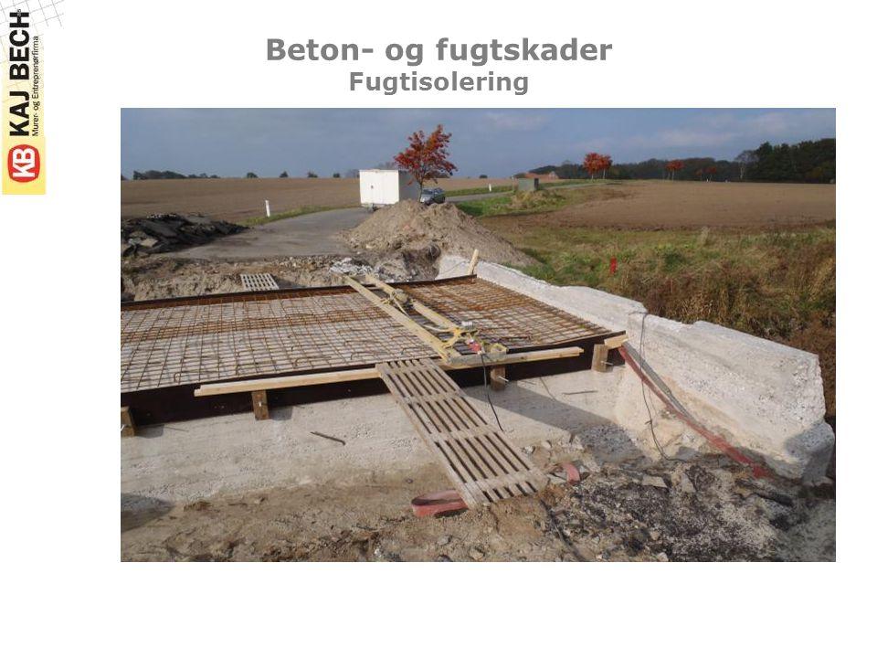 Beton- og fugtskader Fugtisolering