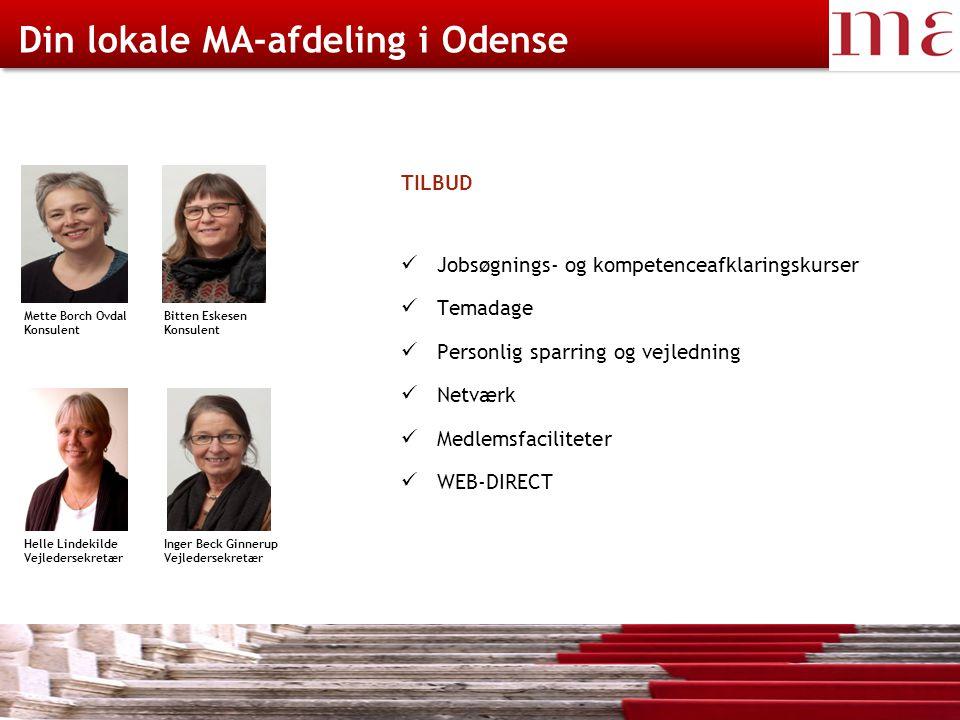 Din lokale MA-afdeling i Odense
