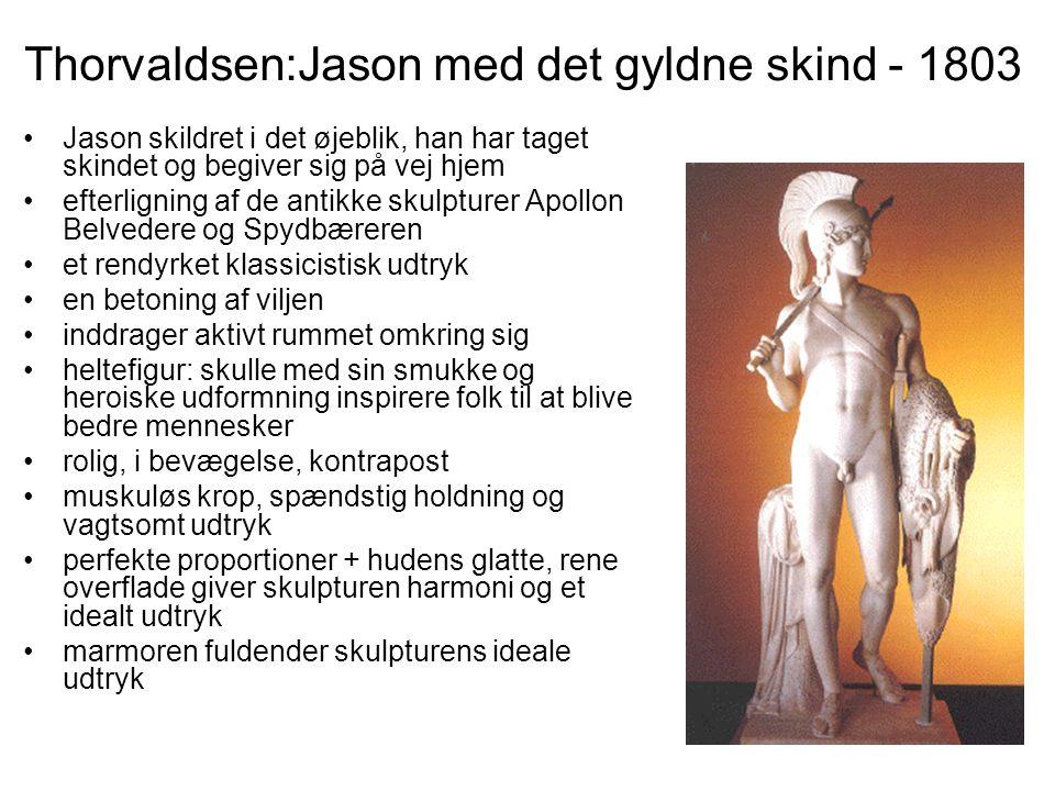 Thorvaldsen:Jason med det gyldne skind - 1803
