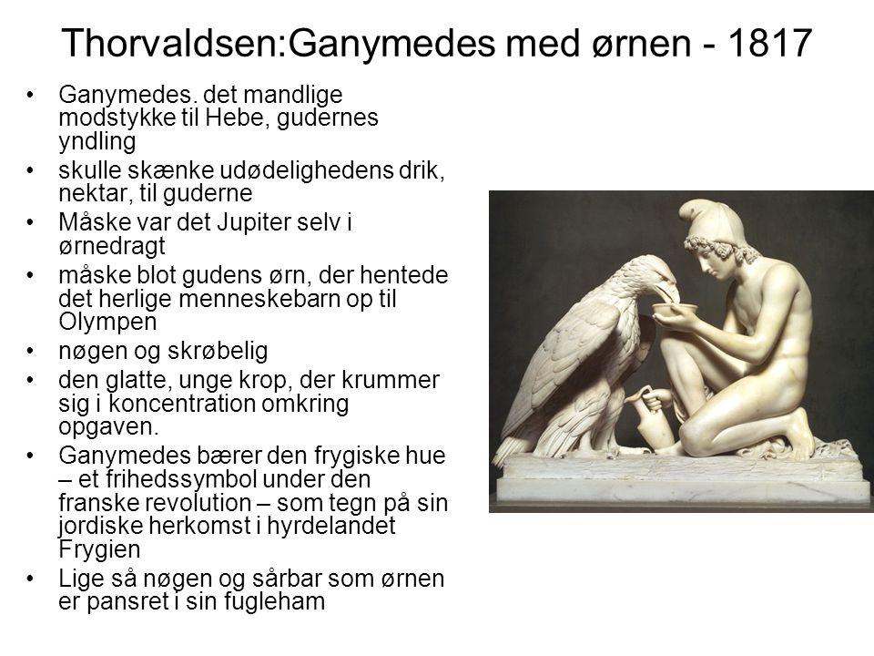 Thorvaldsen:Ganymedes med ørnen - 1817
