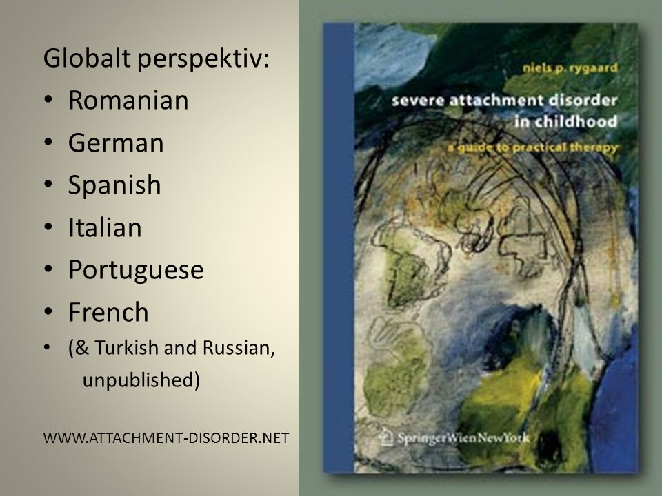 Globalt perspektiv: Romanian German Spanish Italian Portuguese French