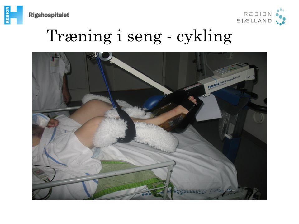 Træning i seng - cykling