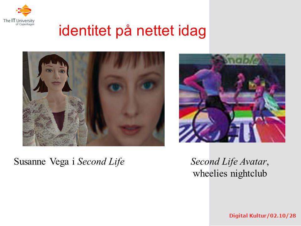 identitet på nettet idag