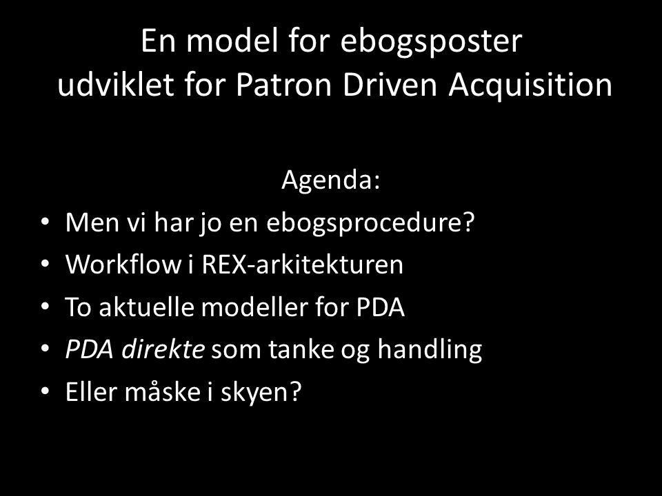 En model for ebogsposter udviklet for Patron Driven Acquisition