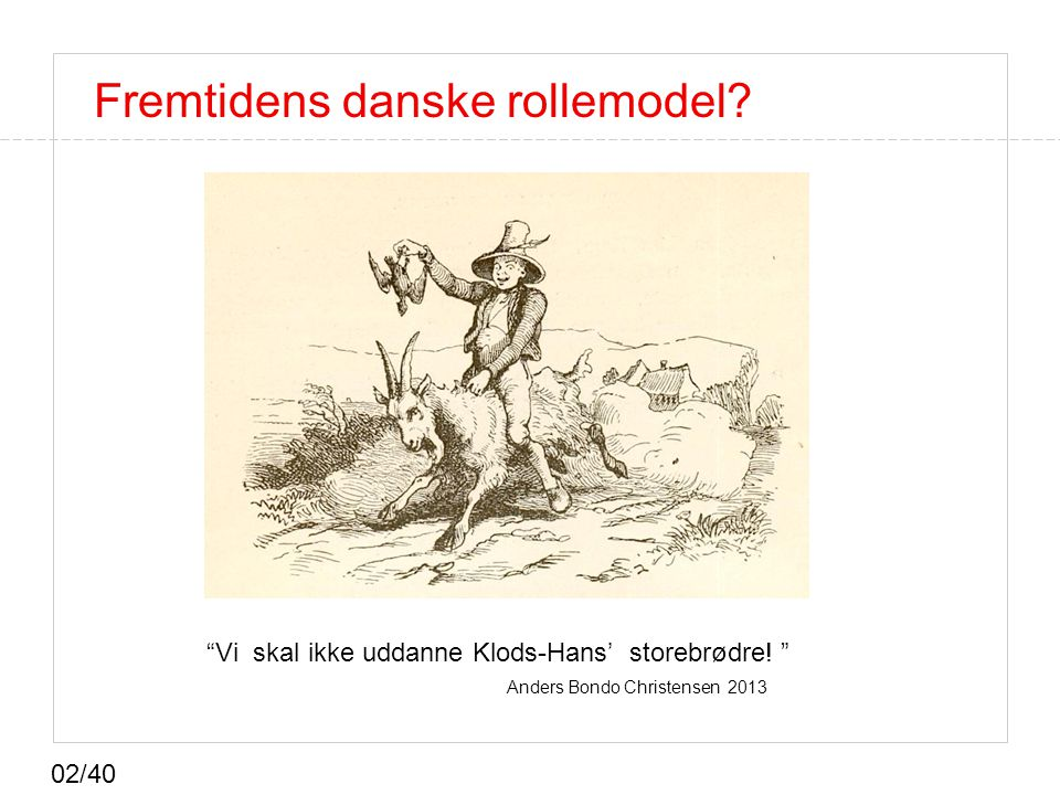 Fremtidens danske rollemodel
