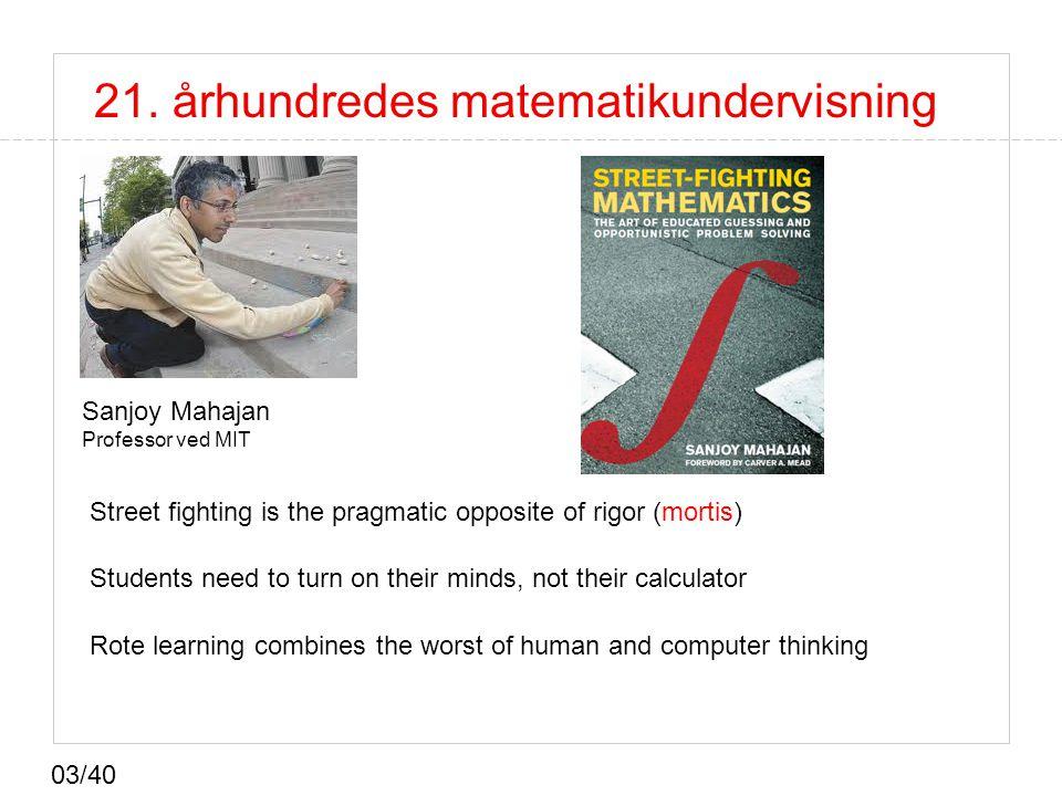 21. århundredes matematikundervisning
