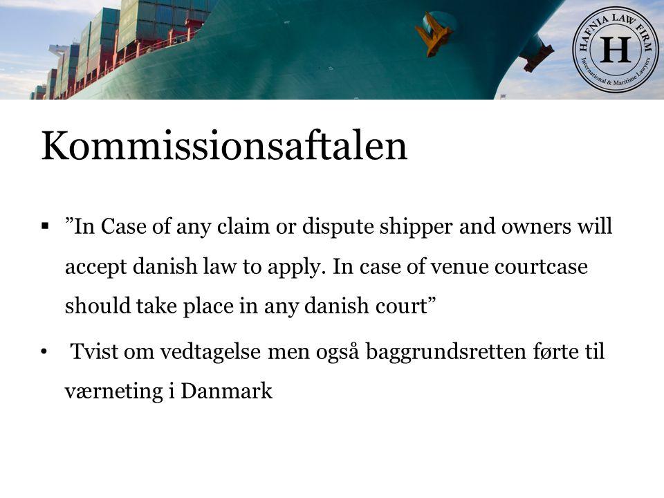 Kommissionsaftalen