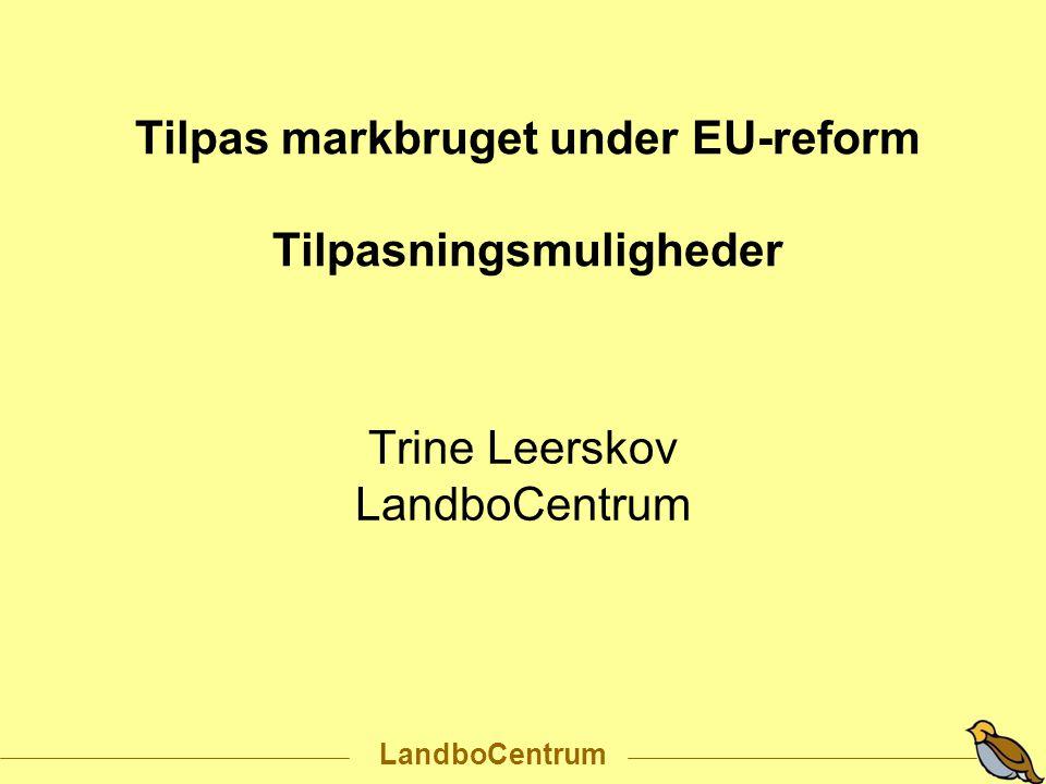 Trine Leerskov LandboCentrum