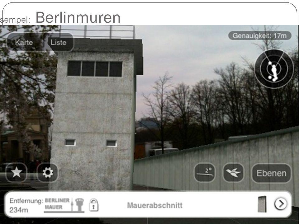 Et eksempel: Berlinmuren