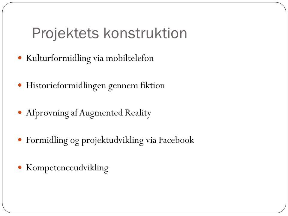 Projektets konstruktion
