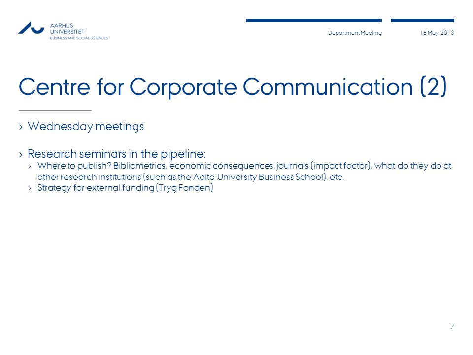 Centre for Corporate Communication (2)