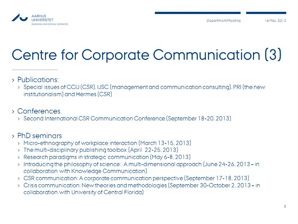 Centre for Corporate Communication (3)
