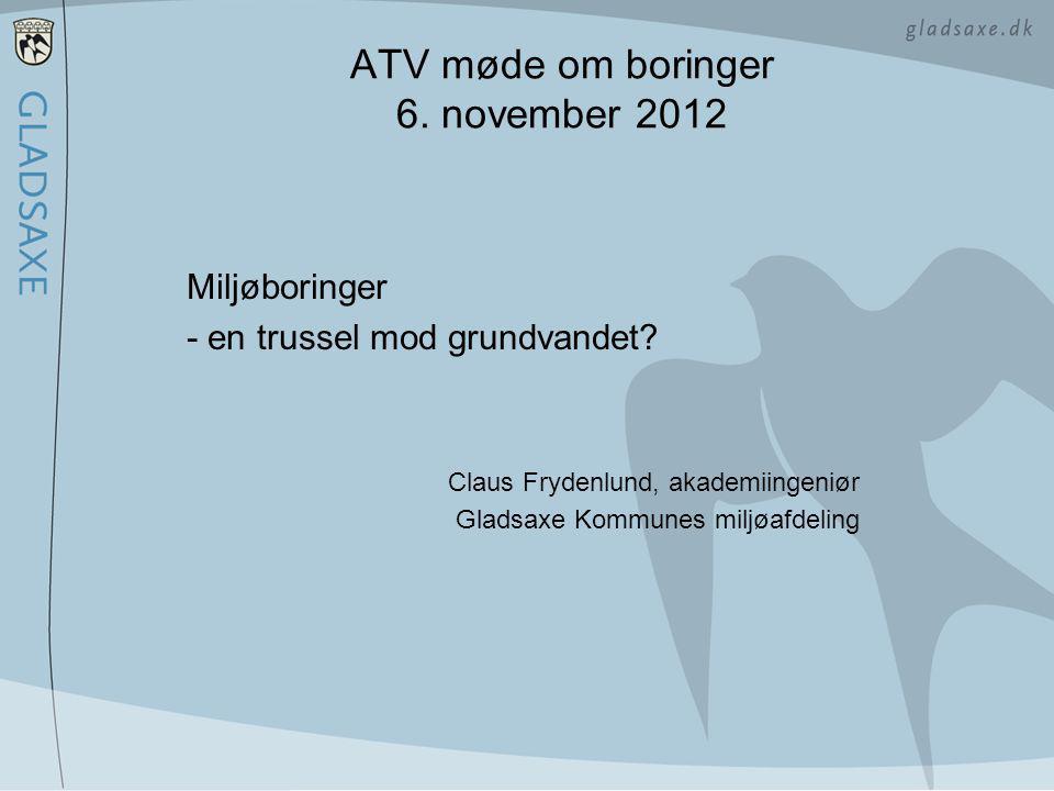 ATV møde om boringer 6. november 2012