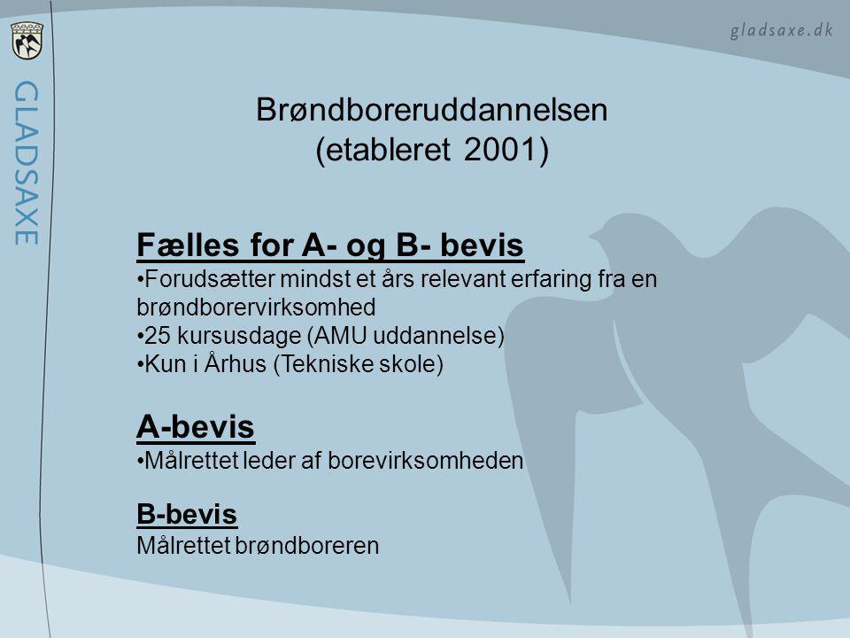 Brøndboreruddannelsen (etableret 2001)
