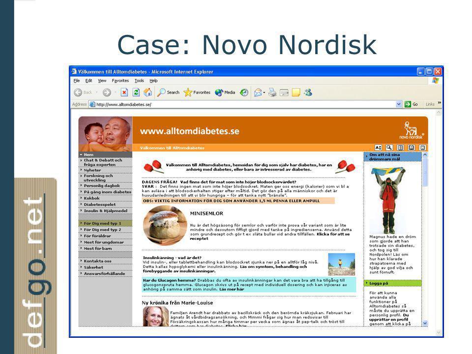 Case: Novo Nordisk