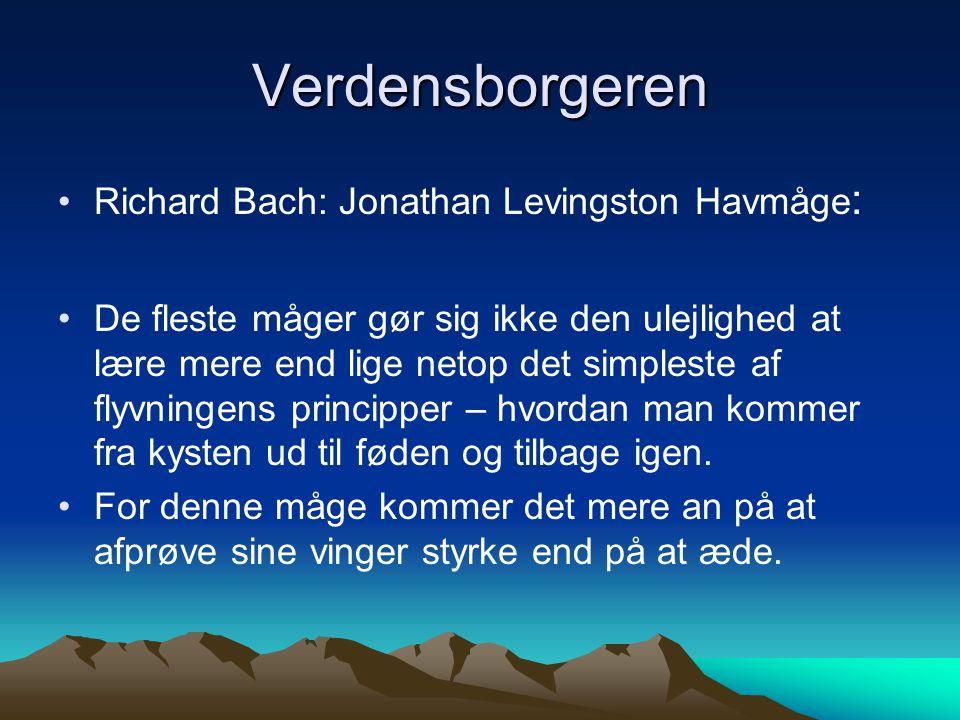 Verdensborgeren Richard Bach: Jonathan Levingston Havmåge: