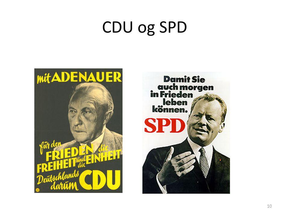 CDU og SPD