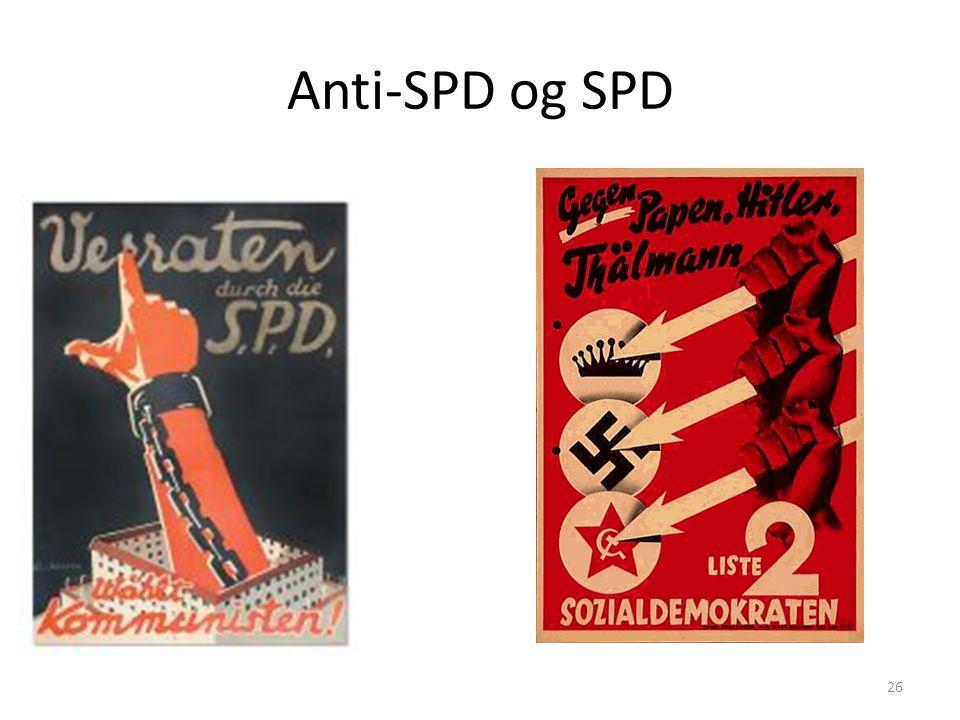 Anti-SPD og SPD