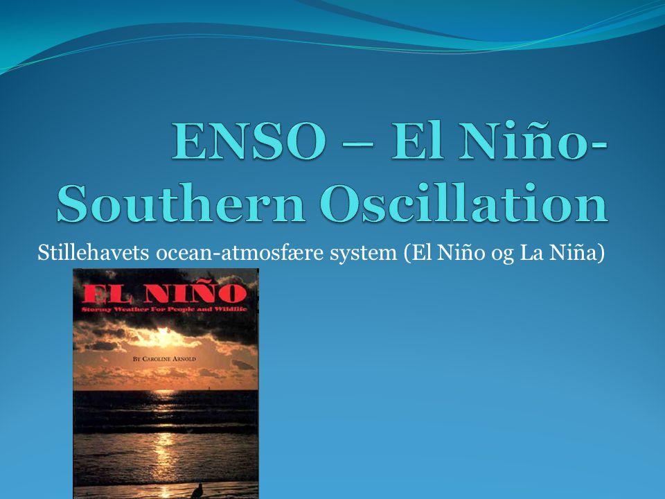 ENSO – El Niño-Southern Oscillation