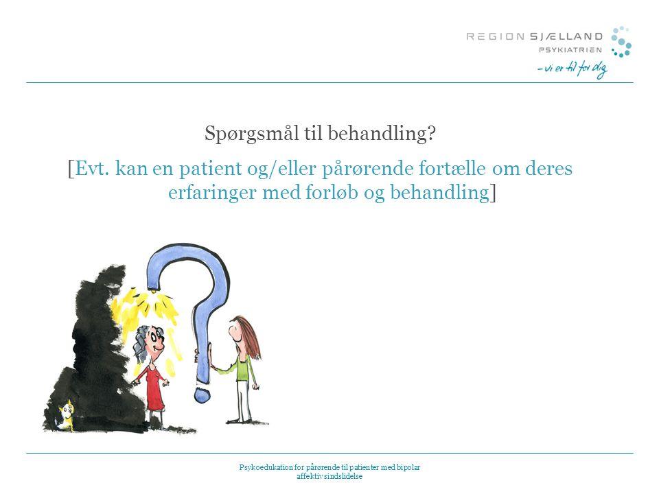 Spørgsmål til behandling