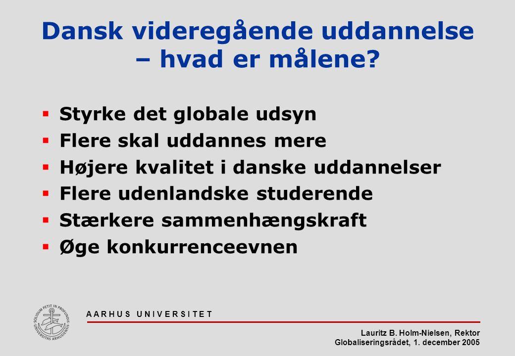 Dansk videregående uddannelse – hvad er målene
