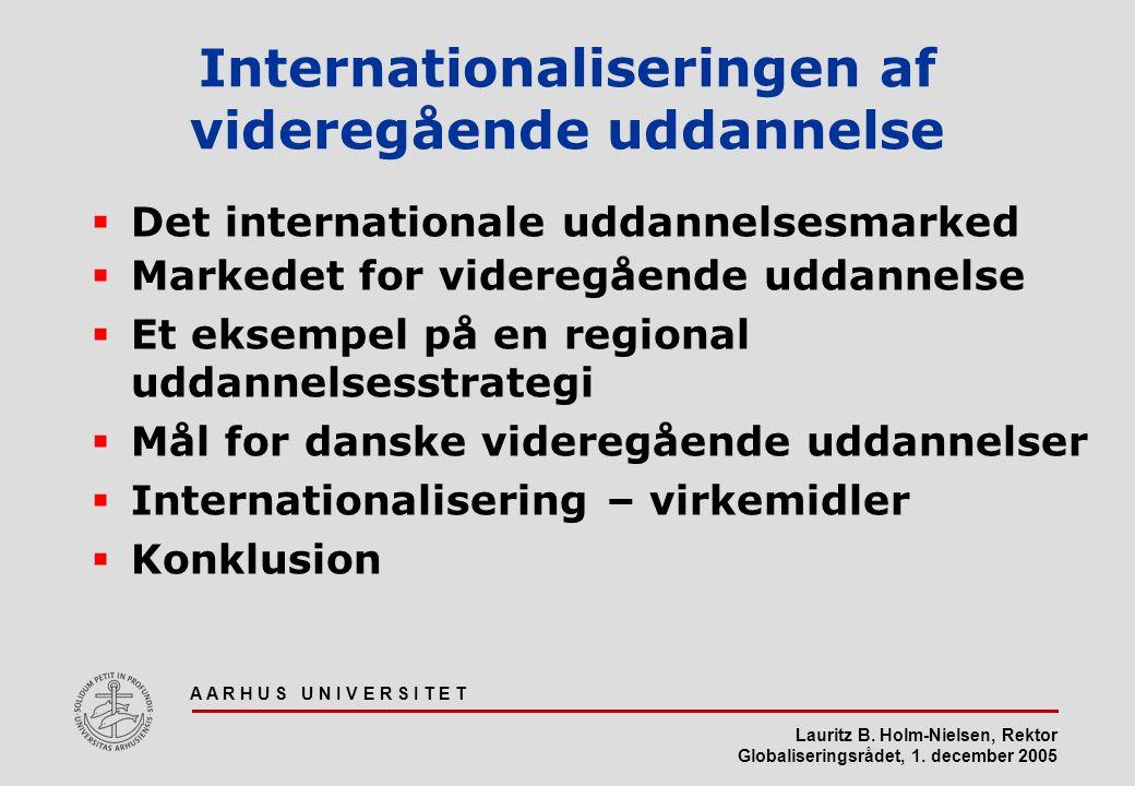 Internationaliseringen af videregående uddannelse