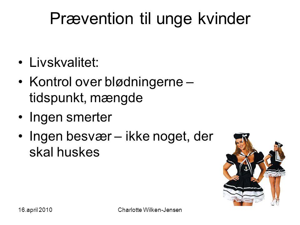 Prævention til unge kvinder