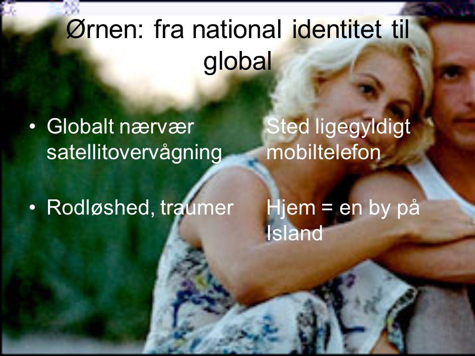 Ørnen: fra national identitet til global