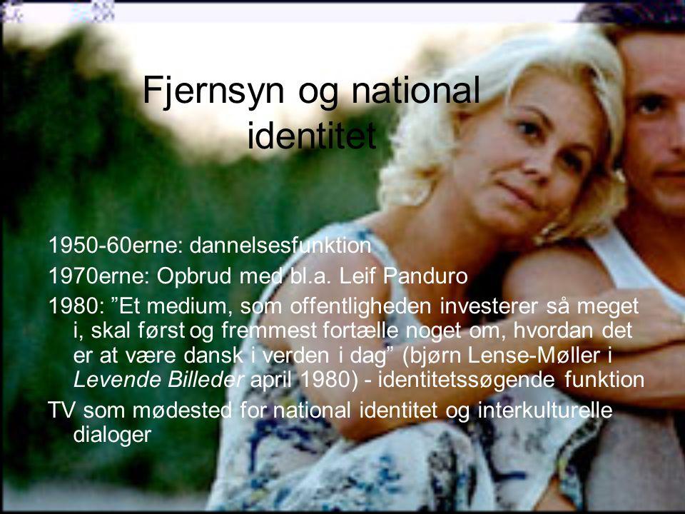 Fjernsyn og national identitet