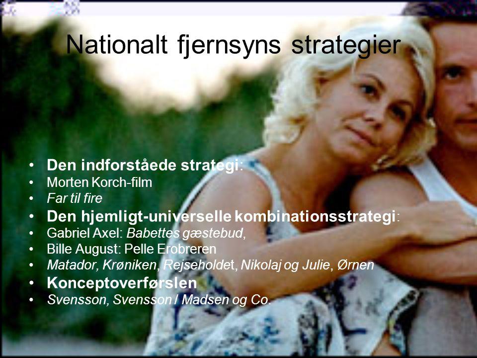 Nationalt fjernsyns strategier