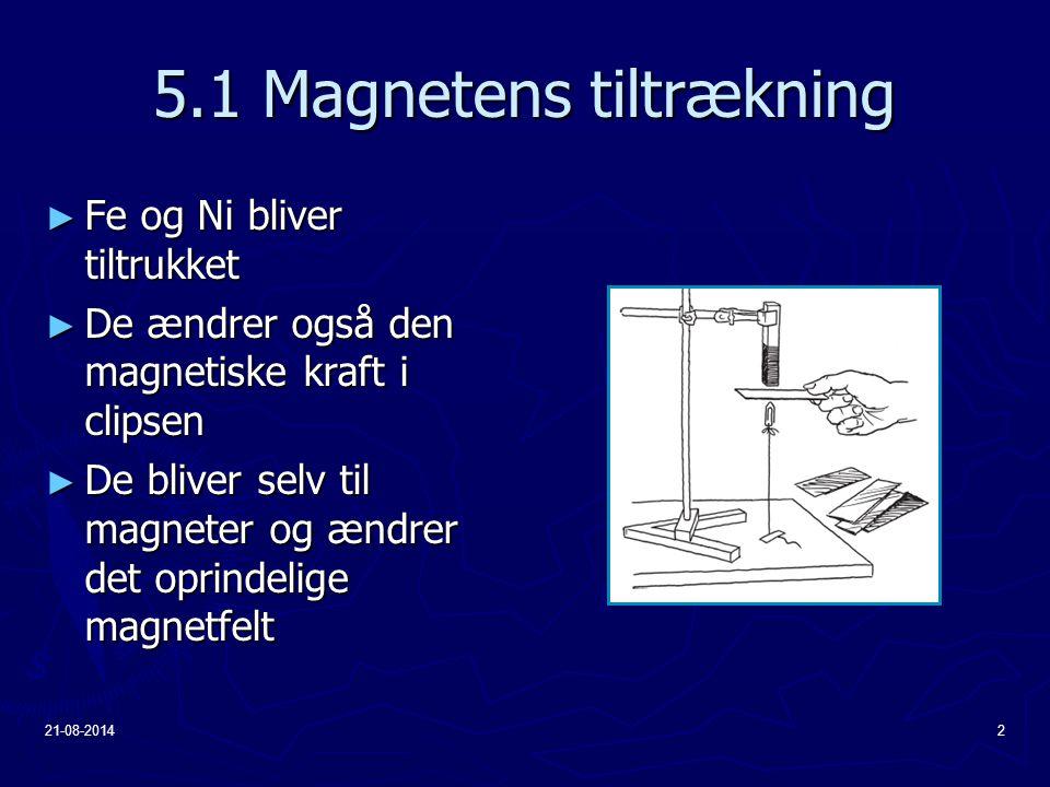 5.1 Magnetens tiltrækning