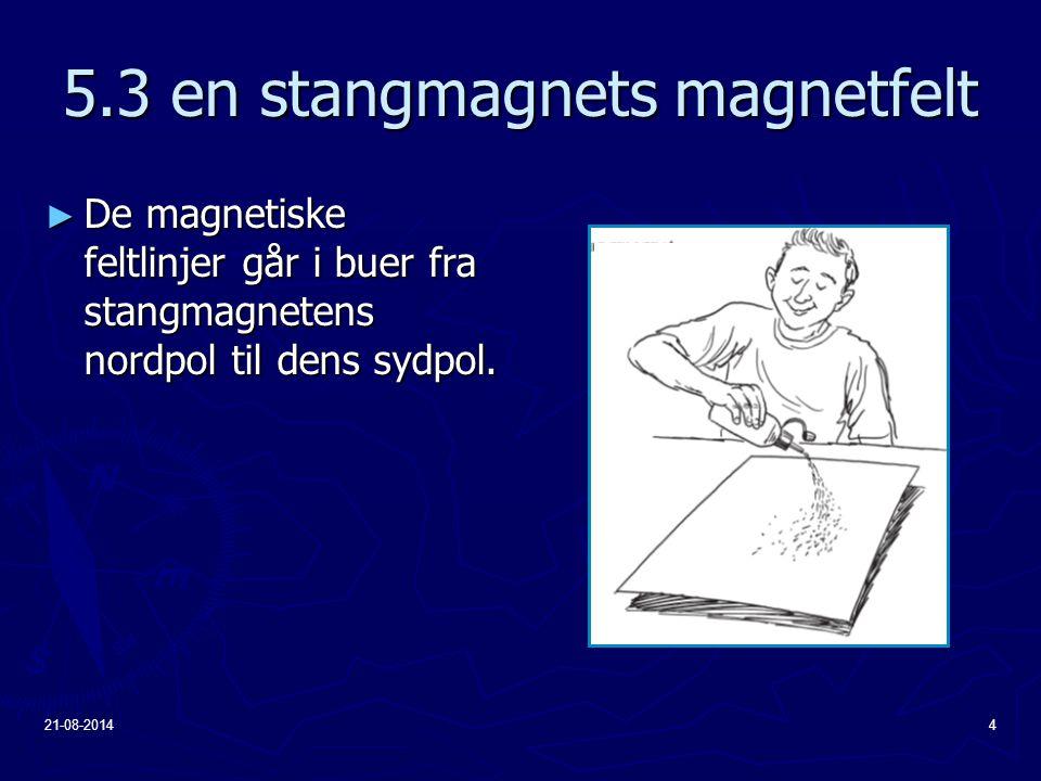 5.3 en stangmagnets magnetfelt