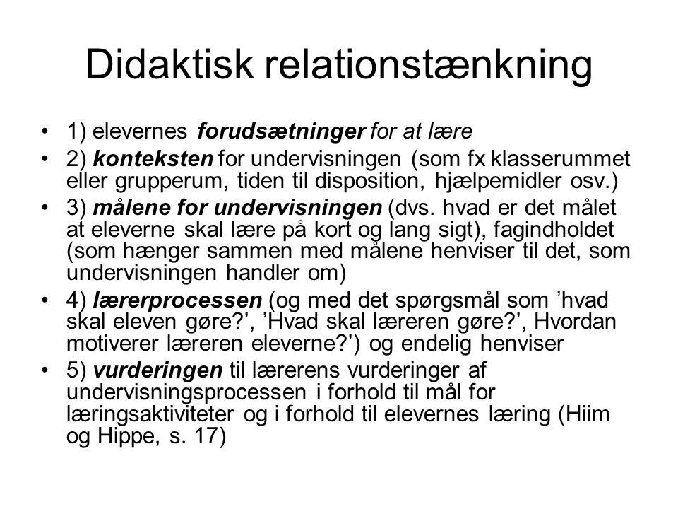 Didaktisk relationstænkning