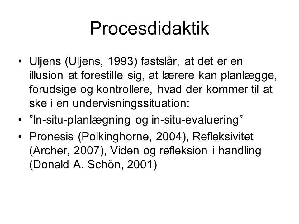 Procesdidaktik