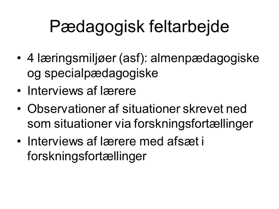 Pædagogisk feltarbejde
