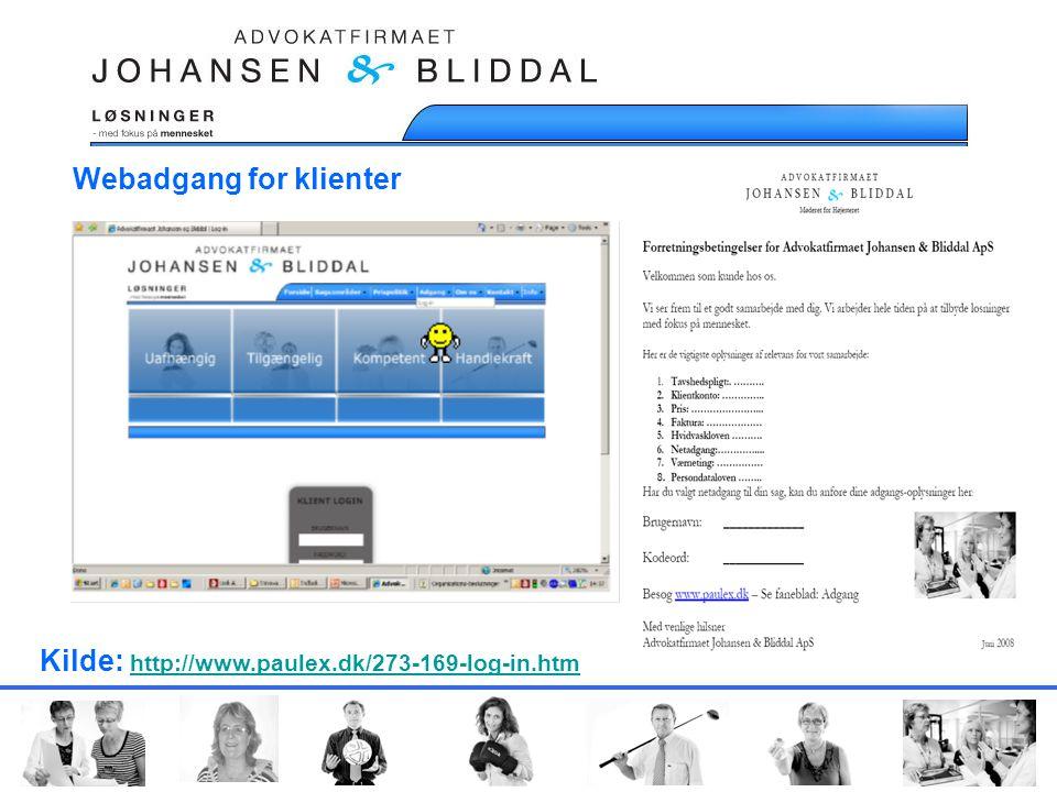 Webadgang for klienter