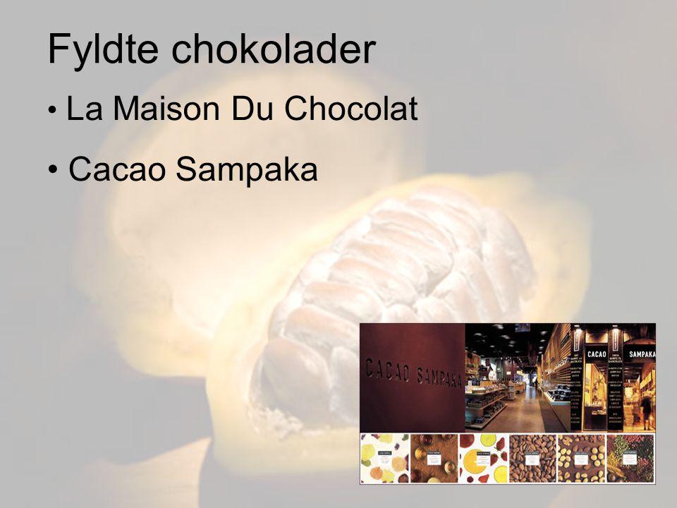 Fyldte chokolader La Maison Du Chocolat Cacao Sampaka