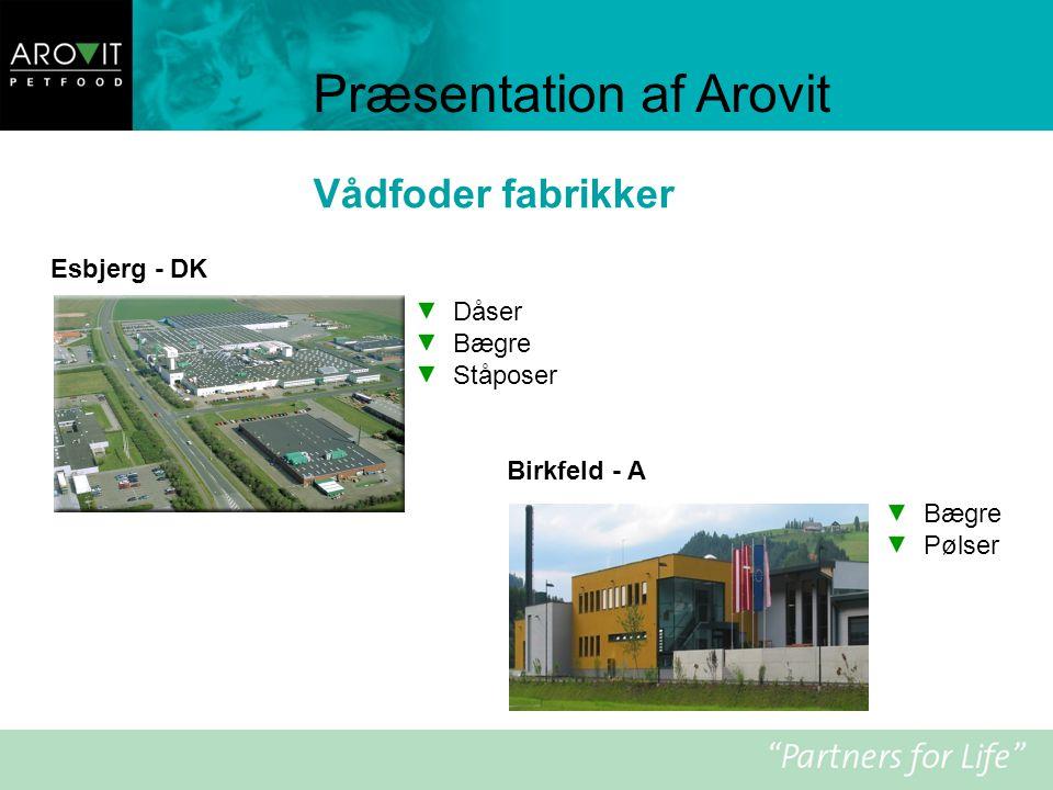 Præsentation af Arovit